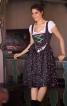 Сукня з пишною спідницею і фартух - фото 1