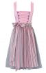 Сукня з широким вирізом горловини і фартух - фото 2