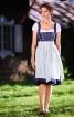 Сукня з імітацією блузки і фартух - фото 1