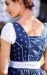 Сукня з імітацією блузки і фартух - фото 5