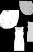 Сукня-майка з шифоновою накидкою - фото 3