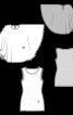 Топ-майка з шифоновою накидкою - фото 3