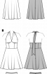 Сукня відрізна із нижньою спідницею - фото 3