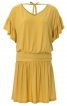 Сукня міні із заниженою талією і оборками - фото 2