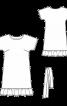 Сукня простого крою з оборкою - фото 3