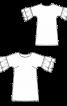 Сукня міні з широкими оборками на рукавах - фото 3