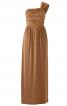 Сукня максі з однією бретеллю - фото 2