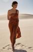 Сукня максі з однією бретеллю - фото 1