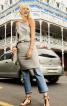 Сукня асиметричного крою на одне плече - фото 1
