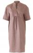 Сукня міні з пластроном зі складками - фото 2
