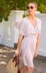 Сукня міні з воланами і широким поясом - фото 1