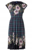 Сукня відрізна з приспущеними плечима - фото 2