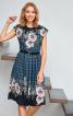Сукня відрізна з приспущеними плечима - фото 1
