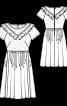 Сукня відрізна з пишною спідницею - фото 3