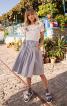 Сукня відрізна з пишною спідницею - фото 1