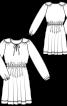 Сукня приталеного крою з пишною спідницею - фото 3