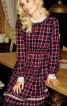 Сукня приталеного крою з пишною спідницею - фото 1