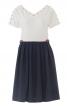 Сукня з пишною спідницею і V-подібними вирізами - фото 2