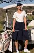 Сукня з пишною спідницею і V-подібними вирізами - фото 1