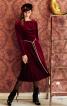Сукня міді із застібкою на плечі - фото 1