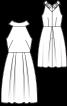 Сукня з американською проймою і пишною спідницею - фото 3