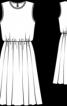 Сукня з призбореною спідницею - фото 3