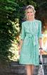 Сукня зі складками біля горловини - фото 1