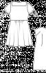 Сукня з пишною спідницею і чохлом - фото 3