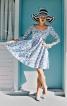 Сукня з фігурним вирізом горловини - фото 1