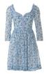 Сукня з фігурним вирізом горловини - фото 2