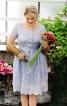 Сукня з рельєфними швами і пишною спідницею - фото 1