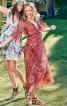 Сукня з розкльошеними рукавами і пишною спідницею - фото 1