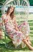 Сукня з пишними рукавами і глибоким V-подібним вирізом - фото 1