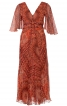 Сукня з розкльошеними рукавами і пишною спідницею - фото 2