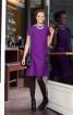 Сукня-футляр з горизонтальними швами - фото 1