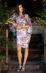 Сукня О-силуету з рукавами «летюча миша» - фото 1