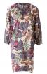 Сукня О-силуету з рукавами «летюча миша» - фото 2