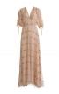 Сукня довга з пишними рукавами - фото 2
