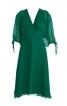 Сукня приталена з пишними рукавами - фото 2