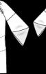 Сукня з оригінальними рукавами реглан - фото 3