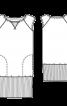 Сукня міні трикотажна в спортивному стилі - фото 3