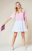 Сукня з рукавами реглан і пишною спідницею - фото 1
