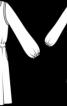Сукня прямого крою з куліскою на талії - фото 3