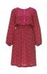 Сукня прямого крою з куліскою на талії - фото 2