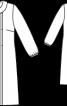 Сукня А-силуету зі складками - фото 3
