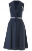 Сукня на бретелях в морському стилі - фото 2