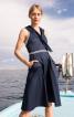 Сукня на бретелях в морському стилі - фото 1