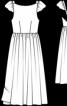 Сукня з глибоким вирізом на спинці - фото 3