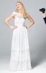 Сукня триярусна з відкритою спиною - фото 1