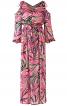 Сукня максі з відкритими плечима - фото 2